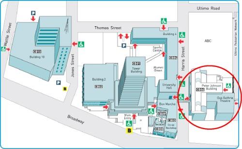 UTS Campus Map